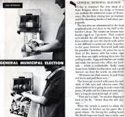 General Municipal Election | back