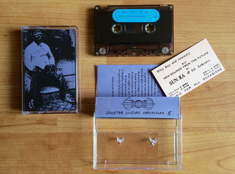 Sun Ra - I Was Sent To Do The Impossible cassette