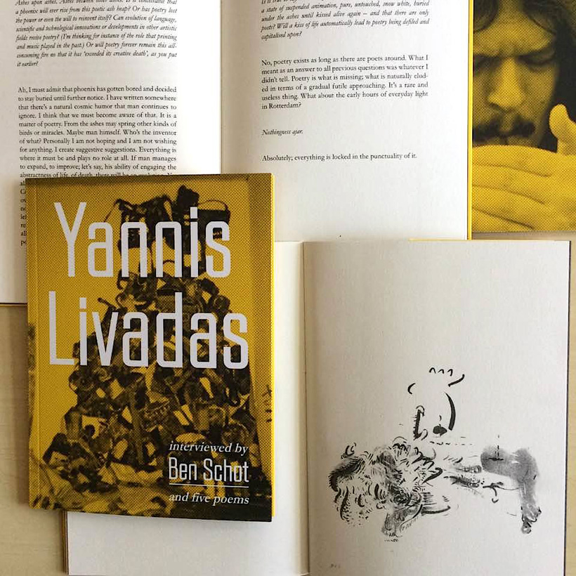 Yannis Livadas interviewed by Ben Schot (and five poems)