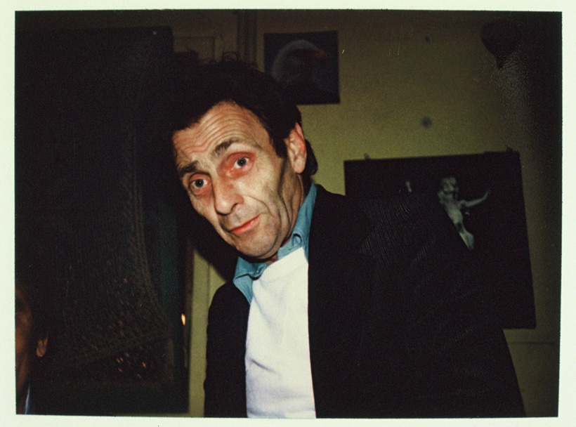 Photo of Henri Chopin: Harry Hoogstraten, 1979
