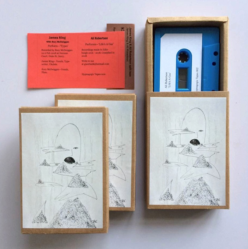 James King - Ali Robertson - Split Tape