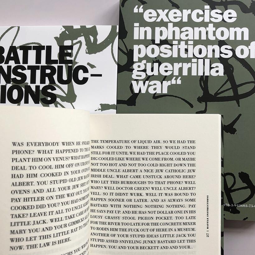 William Burroughs/Brion Gysin - BATTLE INSTRUCTIONS redux