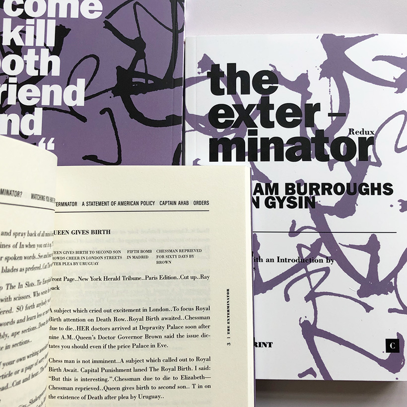 William Burroughs/Brion Gysin - The Exterminator redux